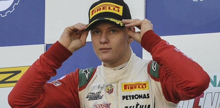 Zaskakująca decyzja syna Schumachera. On wciąż to robi!