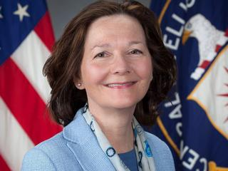 Veteran CIA officer Haspel is shown in handout photograph
