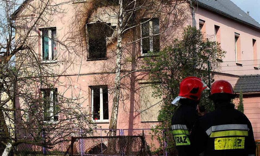 Pożar domu dziecka w Legnicy.