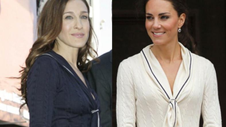 Księżna Catherine kontra Sarah Jessica Parker: dwie panie z jednej kreacji