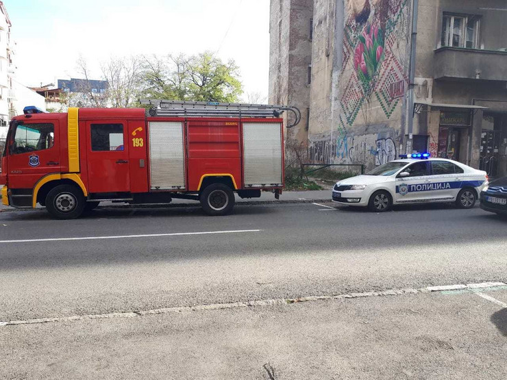 skela dorćol gradilište policija vatrogasci