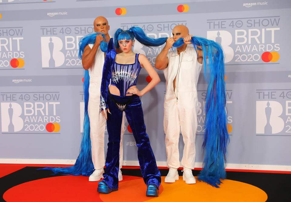 Brit Awards 2020: Ashnikko