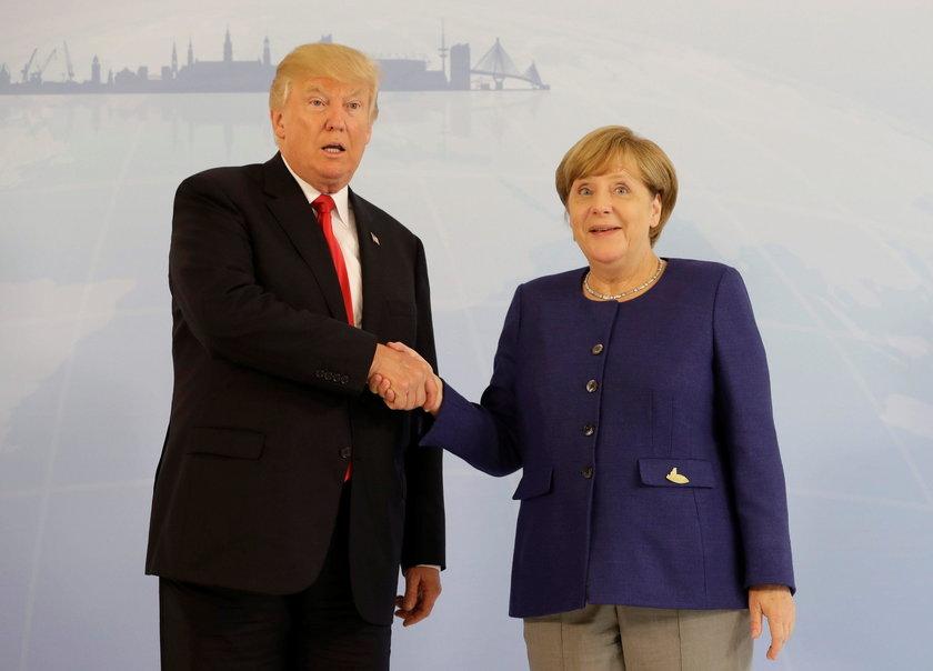 Merkel nie pozwoliła Trumpowi się poniżyć