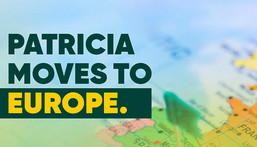 Patricia relocates headquarters to Europe