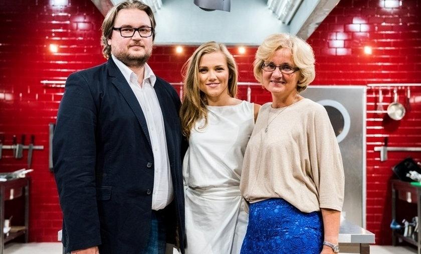 """Bożenka z """"Klanu"""" z rodzonym bratem w show Polsatu."""