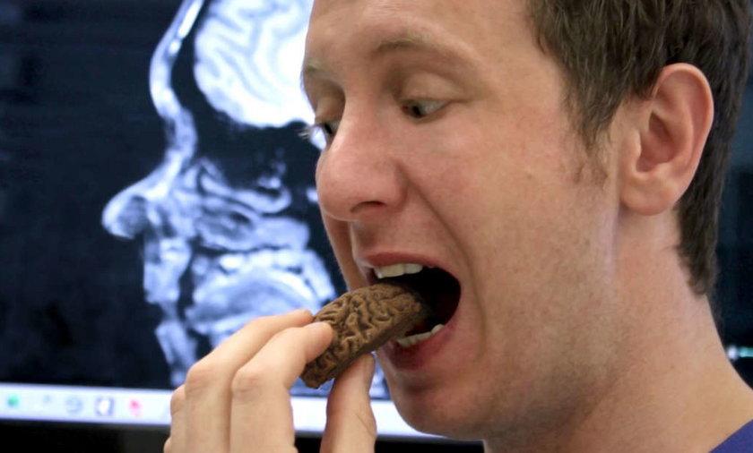Zjadł własny mózg