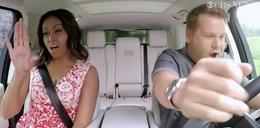 Michelle Obama śpiewa w samochodzie. Co za głos!