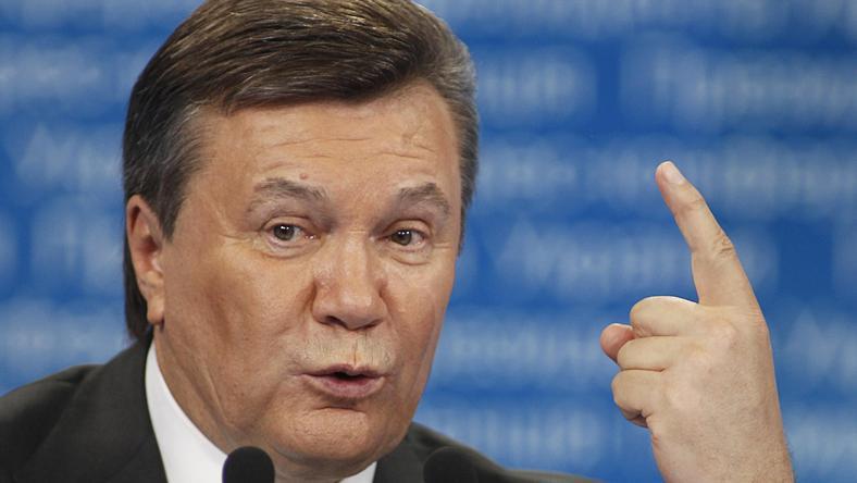 Prezydent Ukrainy Wiktor Janukowycz for. Reuters