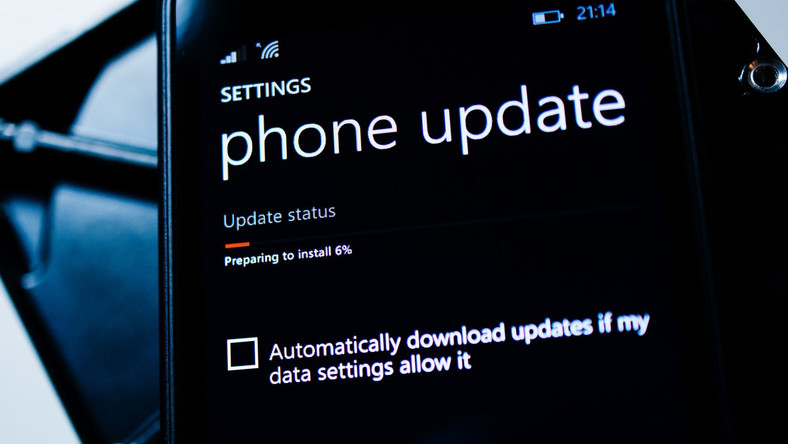 Smartfon Lumia z Windows Phone