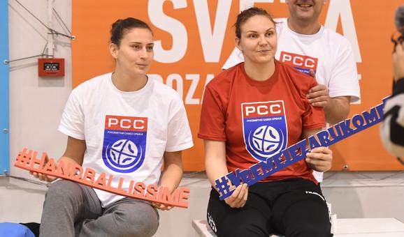Dragana Cvijić i #VremeJeZaRukomet poruka