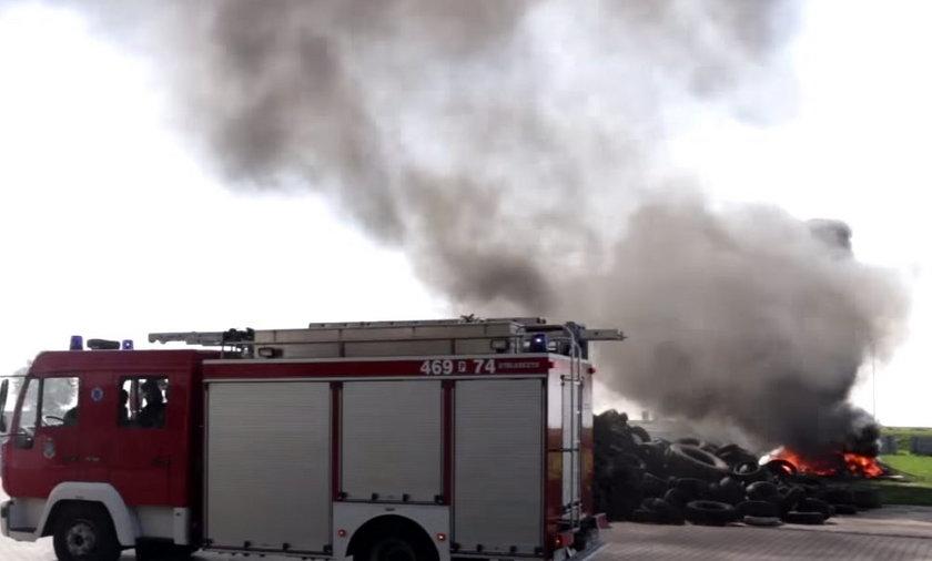 Ćwiczenia strażaków