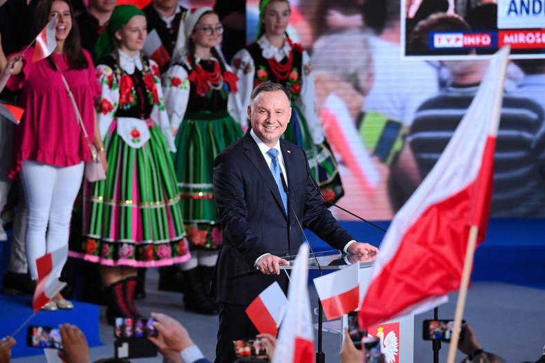 Andrzej Duda ze sztabu