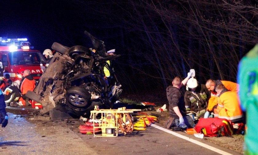 Tragiczny wypadek na DK 45 między Opolem a Kluczborkiem