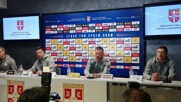 Mladen Krstajić, Aleksandar Kolarov i Nemanja Matić