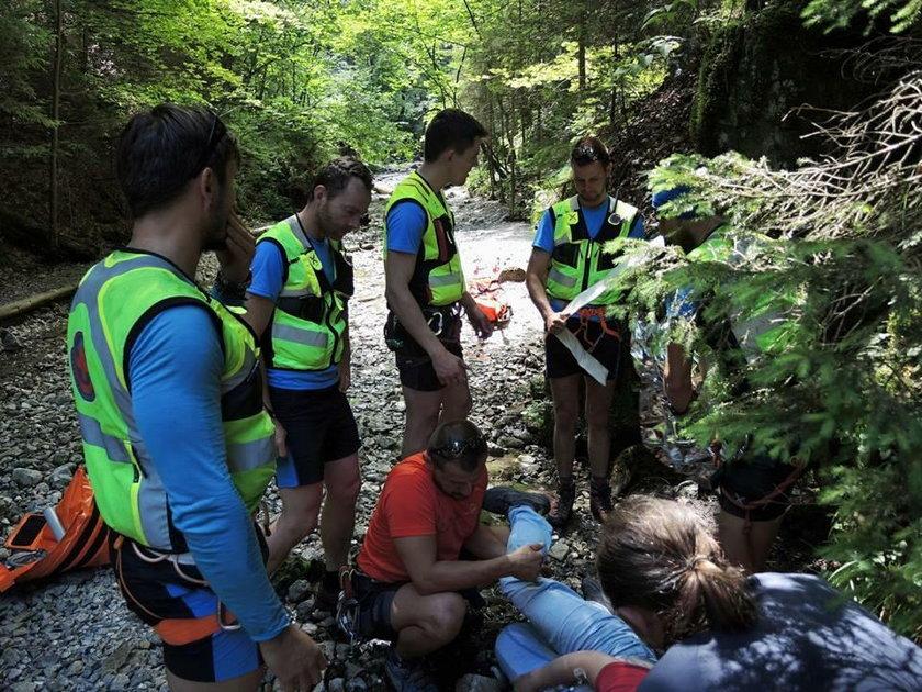 Poważny wypadek polskiej turystyki w Tatrach