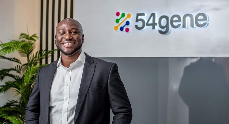 Dr Abasi Ene-Obong, CEO of 54gene