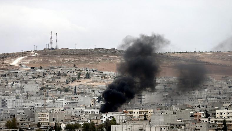 Walki w Kobane