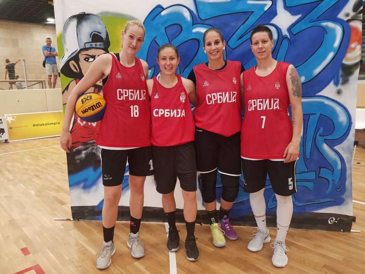 Ženska basket reprezentacija Srbije