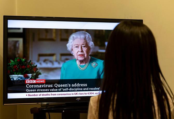 Obraćanje kraljice Elizabete II