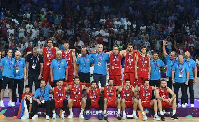 Košarkaška reprezentacija Srbije, osvajač srebra na prošlom Evrobasketu