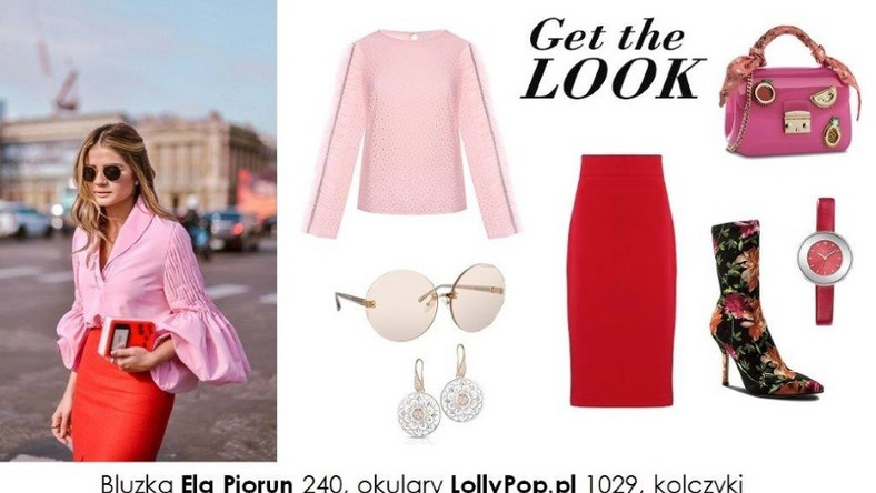 ... Dziś miłośniczki mody i królowe street style ochoczo łączą czerwony z różowym, w ich wszystkich możliwych odcieniach...