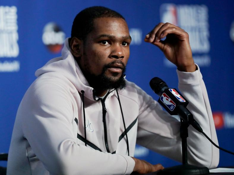 Kevin Durant can become a free agent this summer, and he doesn't sound eager to sign with the Lakers.