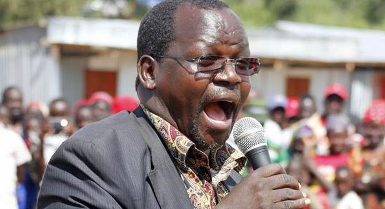 West Pokot Governor John Lonyangapuo