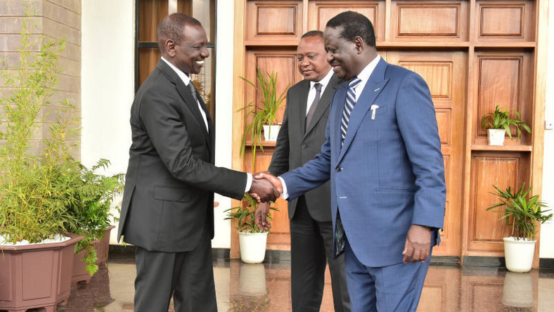 Image result for RUTO AND RAILA