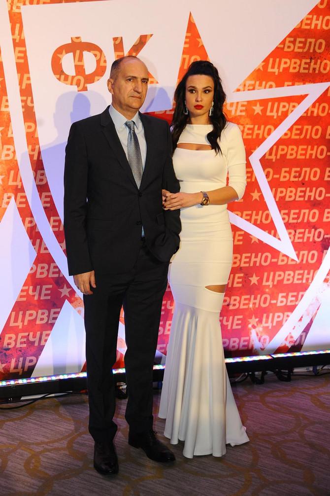 Mitar Mrkela sa suprugom