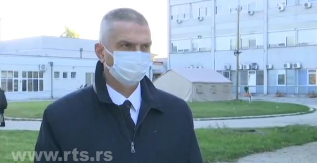 Direktor KC u Kragujevcu Predrag Sazdanović