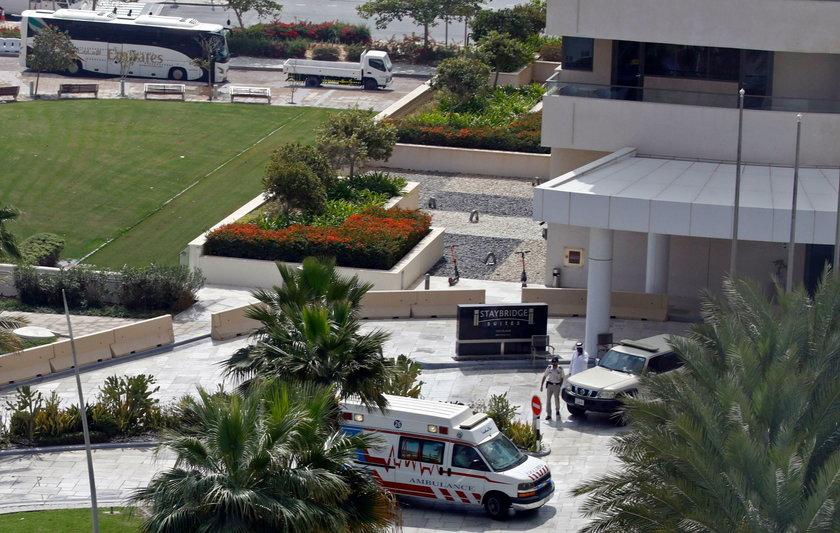 Cztery drużyny kolarskie uwięzione w Abu Zabi
