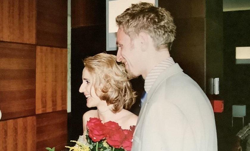Joanna Scheuring-Wielgus z mężem Piotrem