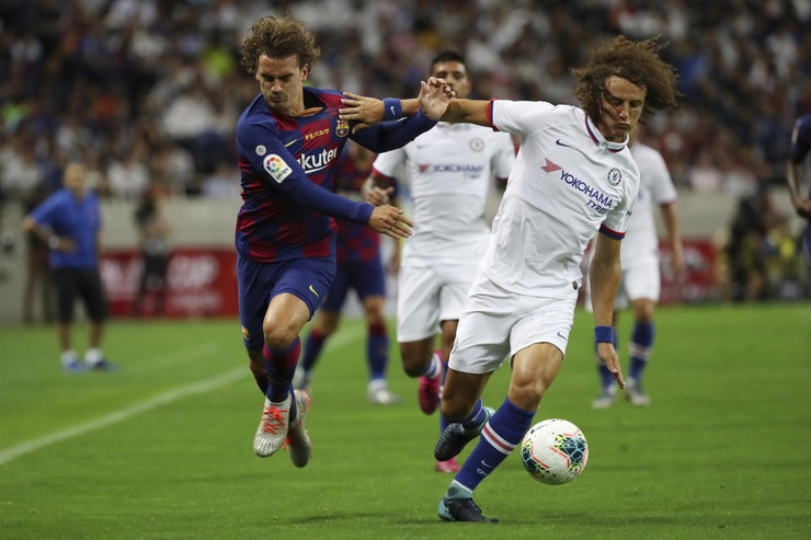 Antoan Grizman i David Luiz
