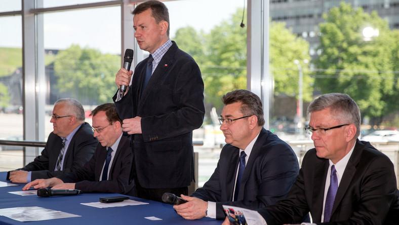 Adam Lipiński, Mariusz Kamiński, Mariusz Błaszczak, Grzegorz Tobiszowski, Stanisław Karczewski, Marek Kuchciński