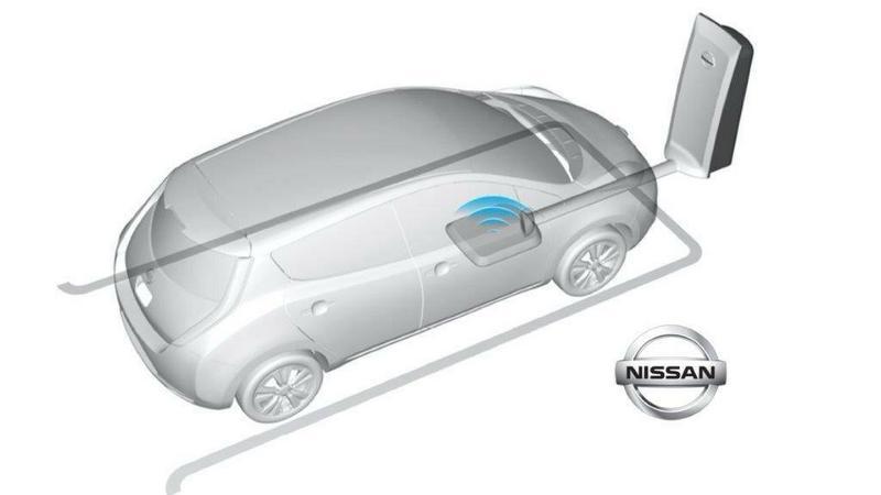 Nissan pracuje nad bezprzewodowym ładowaniem aut