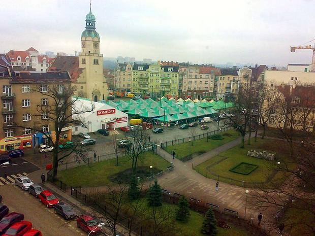 Poznań, Wilda, rynek