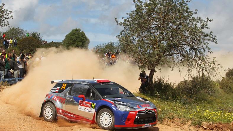 Kubica prowadzi w Rajdzie Korsyki