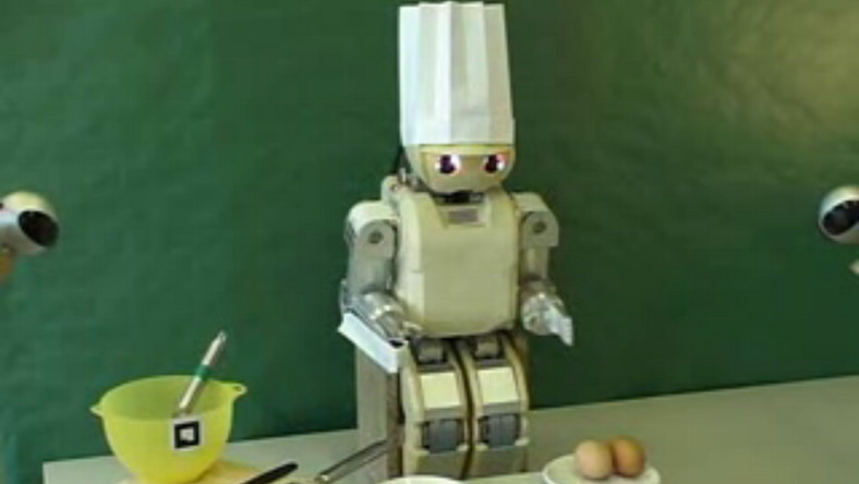 Jak nauczyć robota robić omlet?