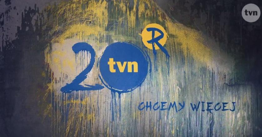 TVN w tym roku ocbodzi 20 lat istnienia