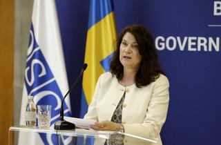 Przewodnicząca OBWE Ann Linde po raz drugi w tym roku w Donbasie