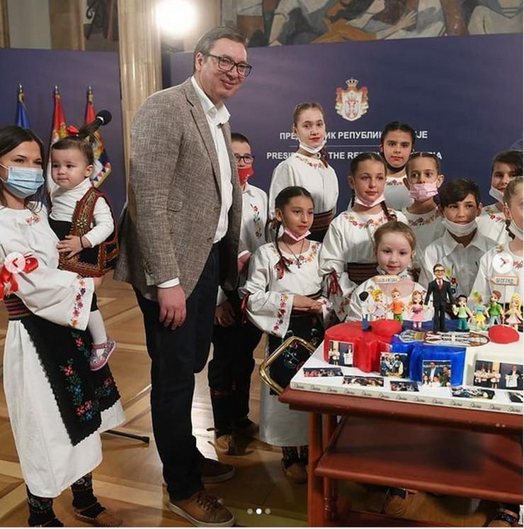 Alekdandar Vučić rođendan