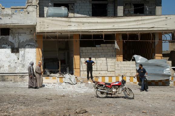 Idlib nakon bombardovanja