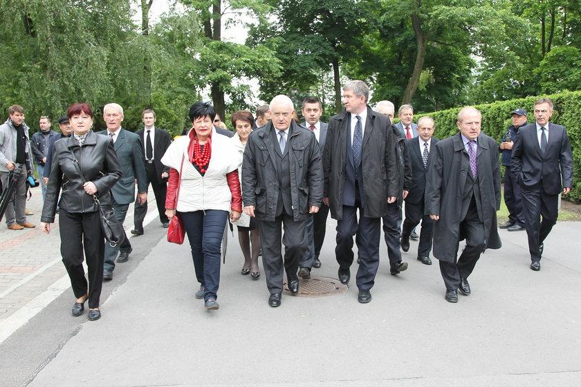 Pogrzeb Jaruzelskiego politycy lewicy