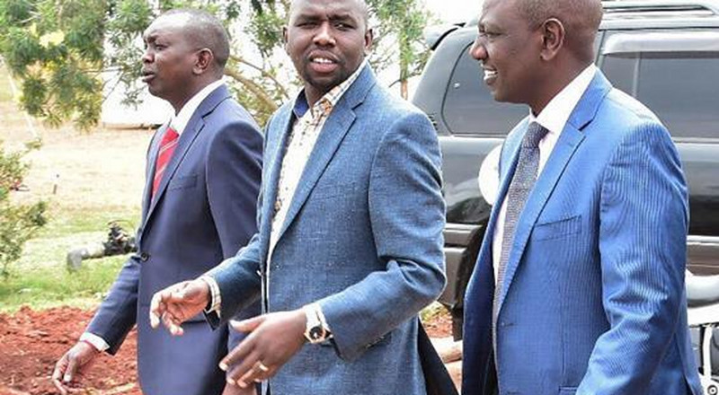 Uhuru chased Ruto out of his Mombasa Residence - Murkomen