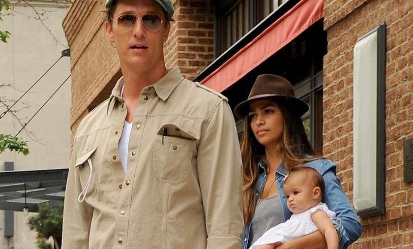McConaughey podróżuje z całą rodziną