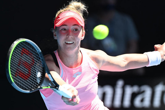 KRAJ ZA NAJBOLJU SRPKINJU Nina Stojanović zaustavljena u drugom kolu turnira u Lionu iako je imala dve meč lopte!