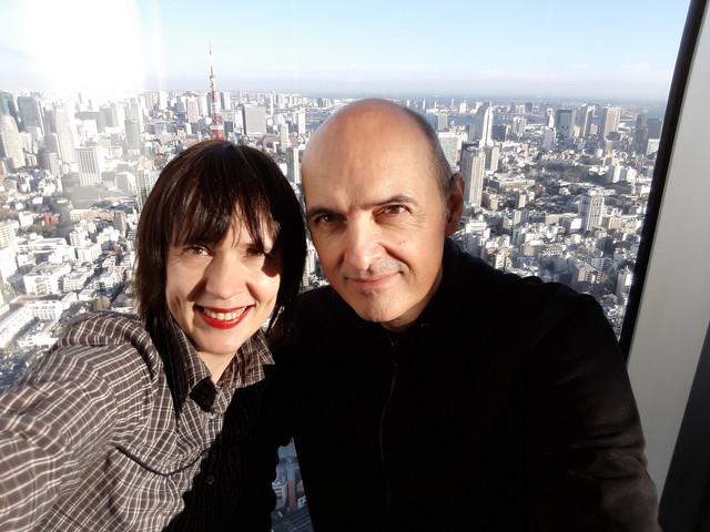 Ljiljana Maletin Vojvodić i Dragan Vojvodić u Tokiju