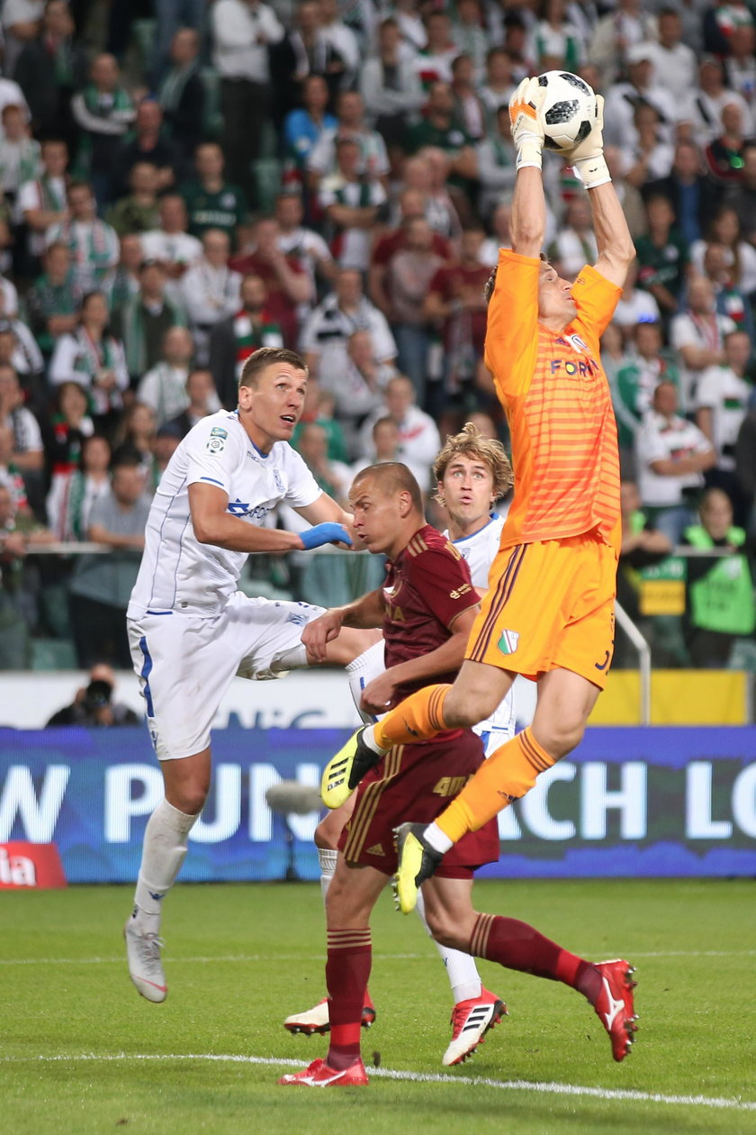 Pilka nozna. Ekstraklasa. Legia Warszawa - Lech Poznan. 16.09.2018
