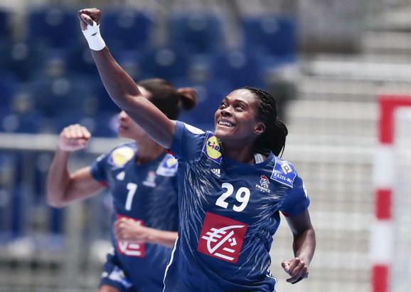 Gnonsian Niombla slavi jedan od pogodaka u dresu Francuske