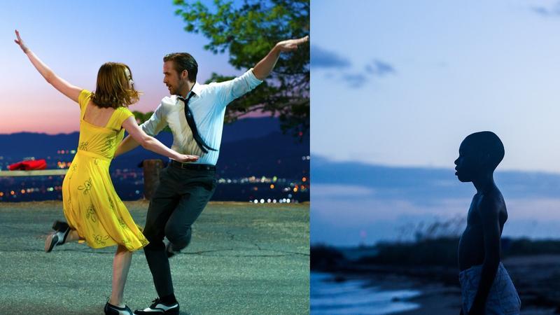 """La La Land"" i ""Moonlight"" - kadry z filmów"